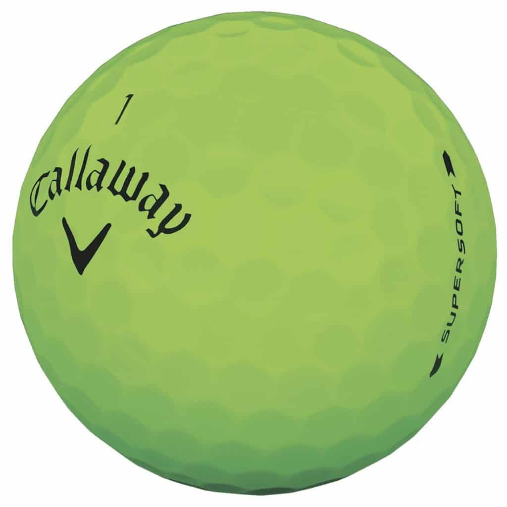 Callaway Supersoft Green Golf Balls