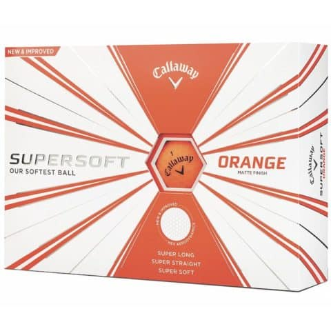 Callaway Supersoft Orange Golf Ballls
