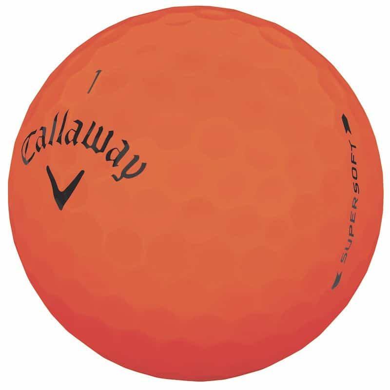 Callaway Supersoft Orange Golf Ballls