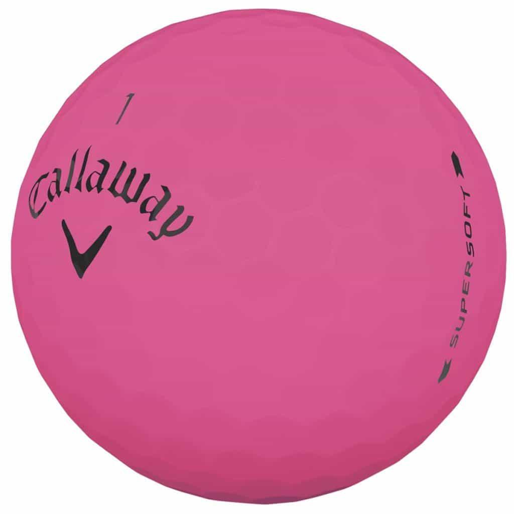 Callaway Supersoft Pink Golf Balls