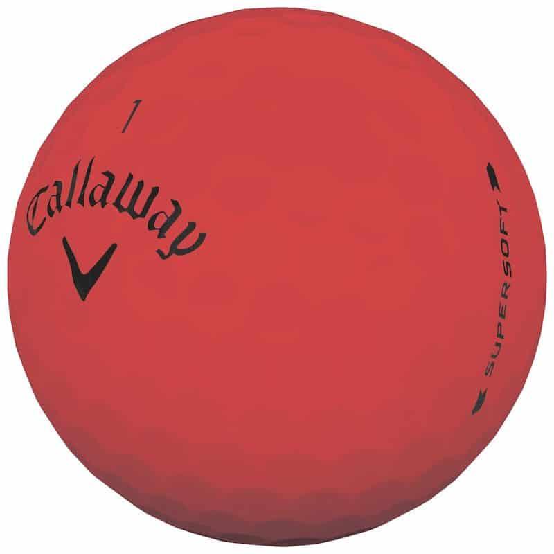 Callaway Supersoft Red Golf Balls