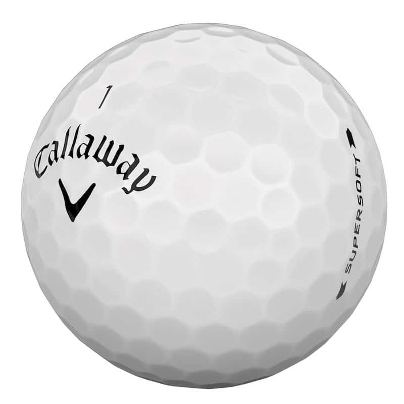 Callaway Supersoft White Golf Balls