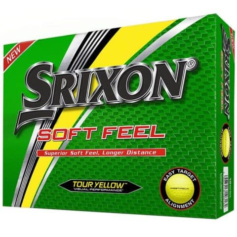 Srixon Soft Feel Yellow Golf Balls