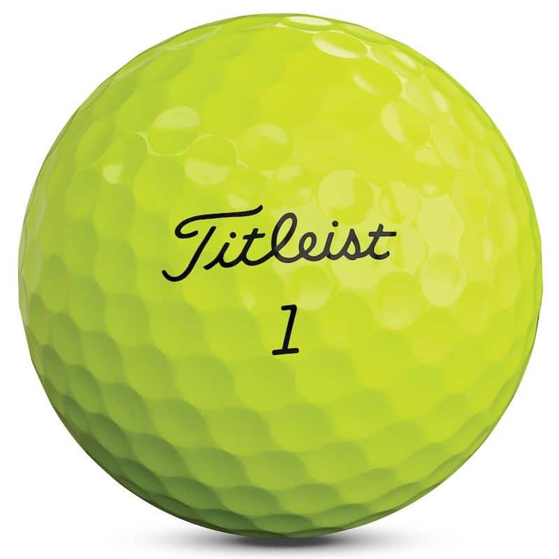 Titleist Pro V1 Yellow Golf Balls