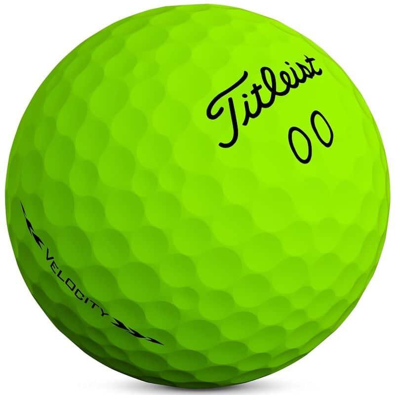 Titleist Velocity Green Golf Balls