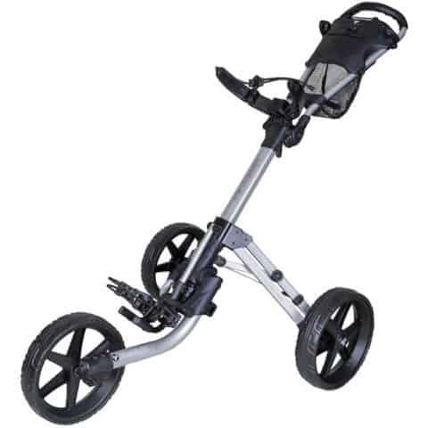 Fastfold Mission 5.0 3-wheel Push Golf Trolley